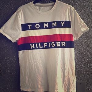 A Red,White,& Blue Tommy Hilfiger shirt
